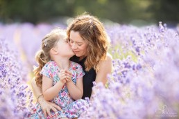 Family photography in the lavender fields Katie Lister