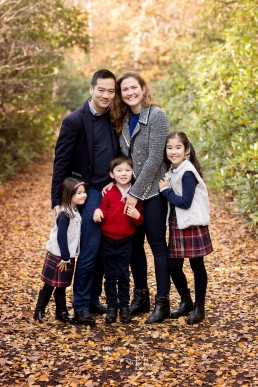 Autumn family photo shoot