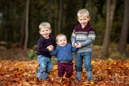 Autumn family photoshoot Esher